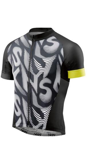 Skins Cycle Classic Cykeltrøje korte ærmer Herrer hvid/sort